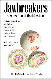 Flash fiction anthology cover. Ace.